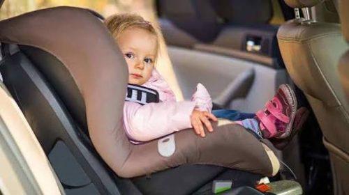 Maxi Cab with car seat